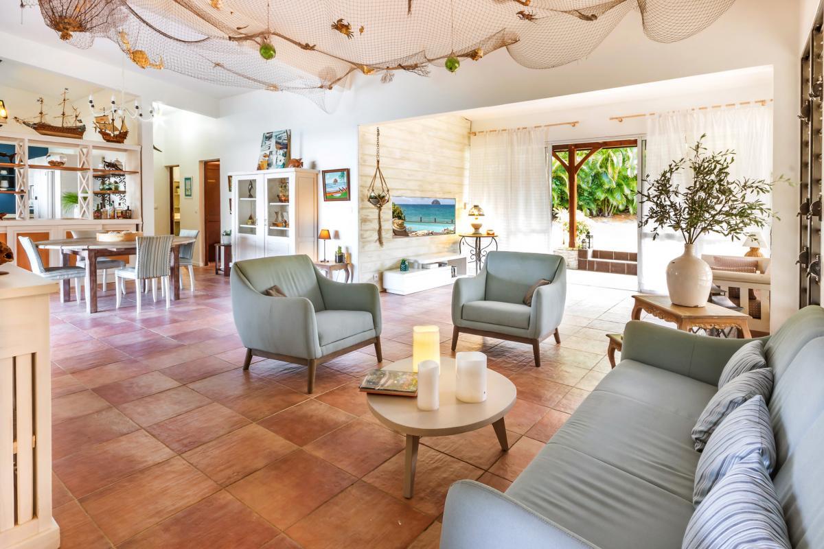 Location Villa de luxe Martinique Salle de séjour