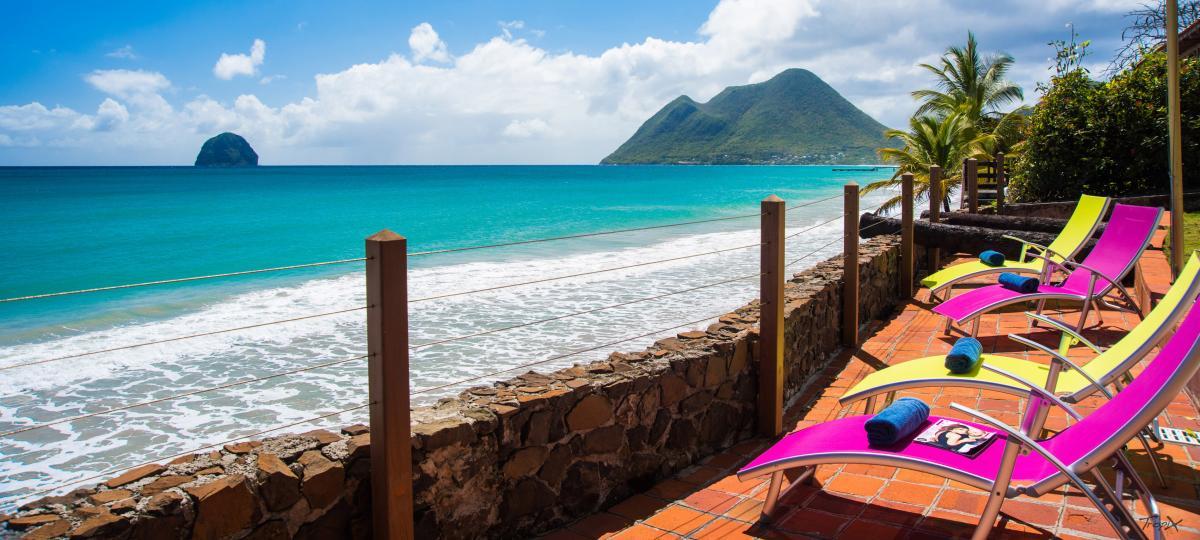 Location Villa de luxe Martinique Vue panoramique