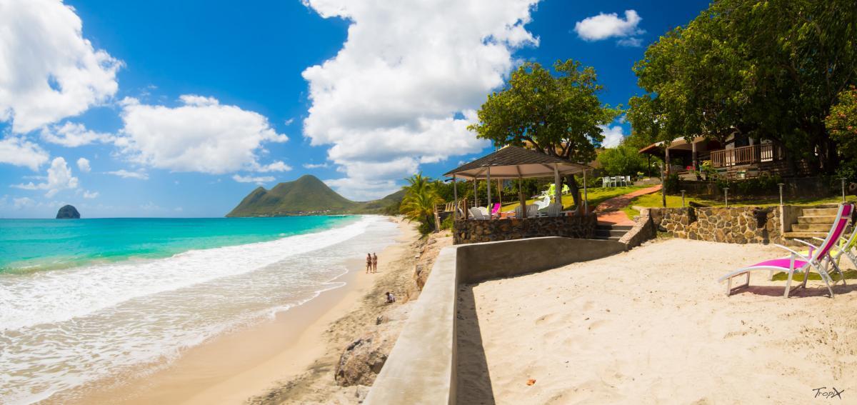 Location Villa Martinique Villa de luxe sur la plage