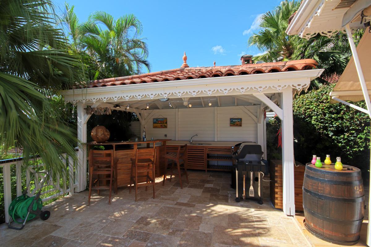 Location Villa Martinique - Cuisine exterieure