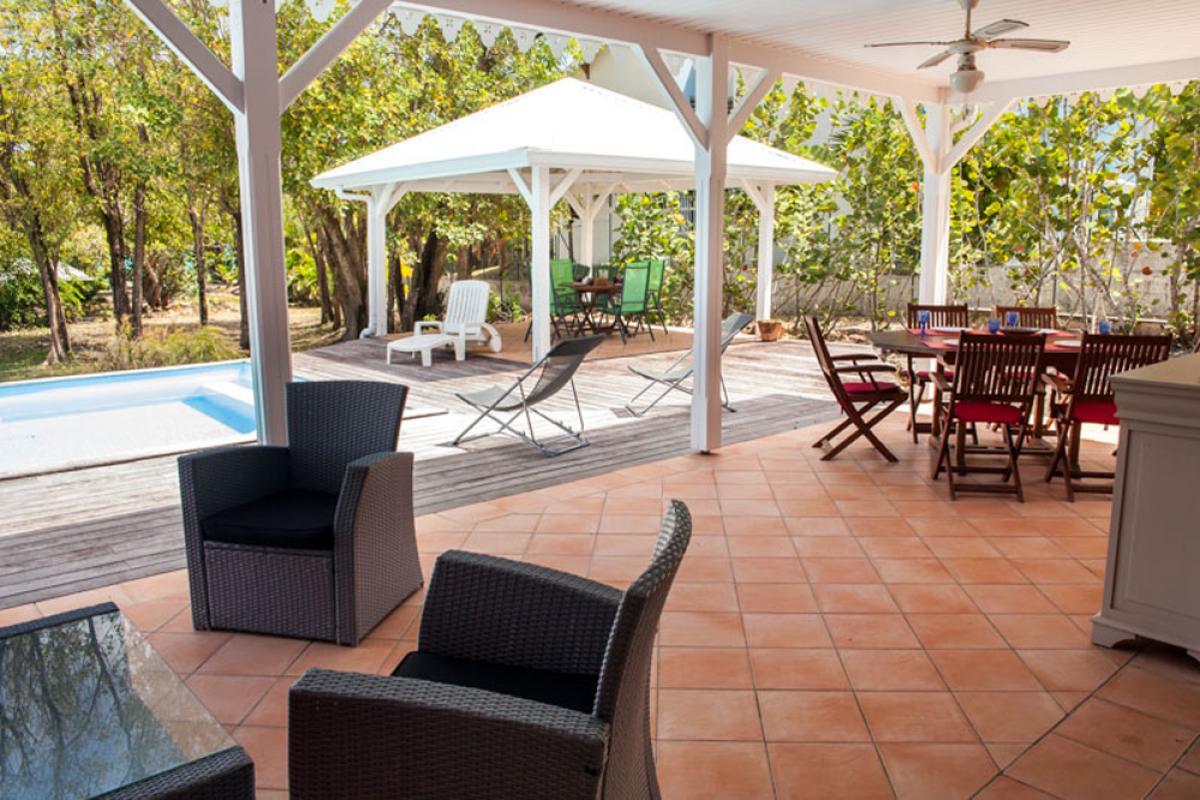 Location maison Le Diamant - La terrasse