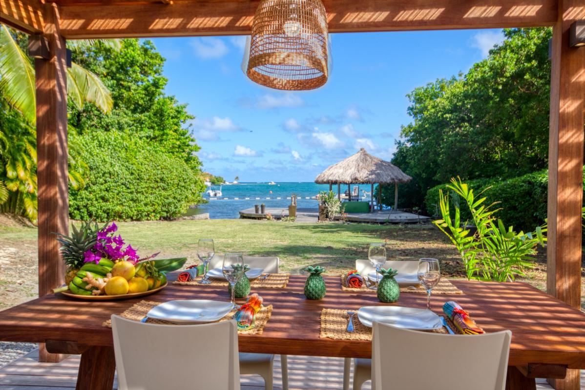 location villa de luxe martinique avec bungalow terrasse vue mer