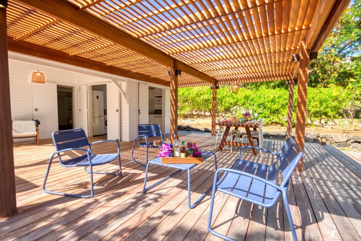 location villa de luxe martinique bungalow vue d'ensemble