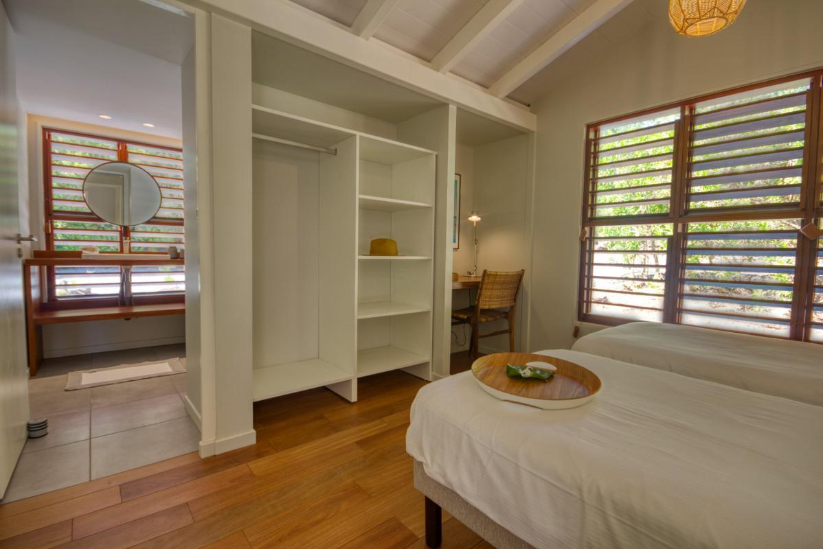 location villa de luxe martinique  chambre 2 bungalow vue 2