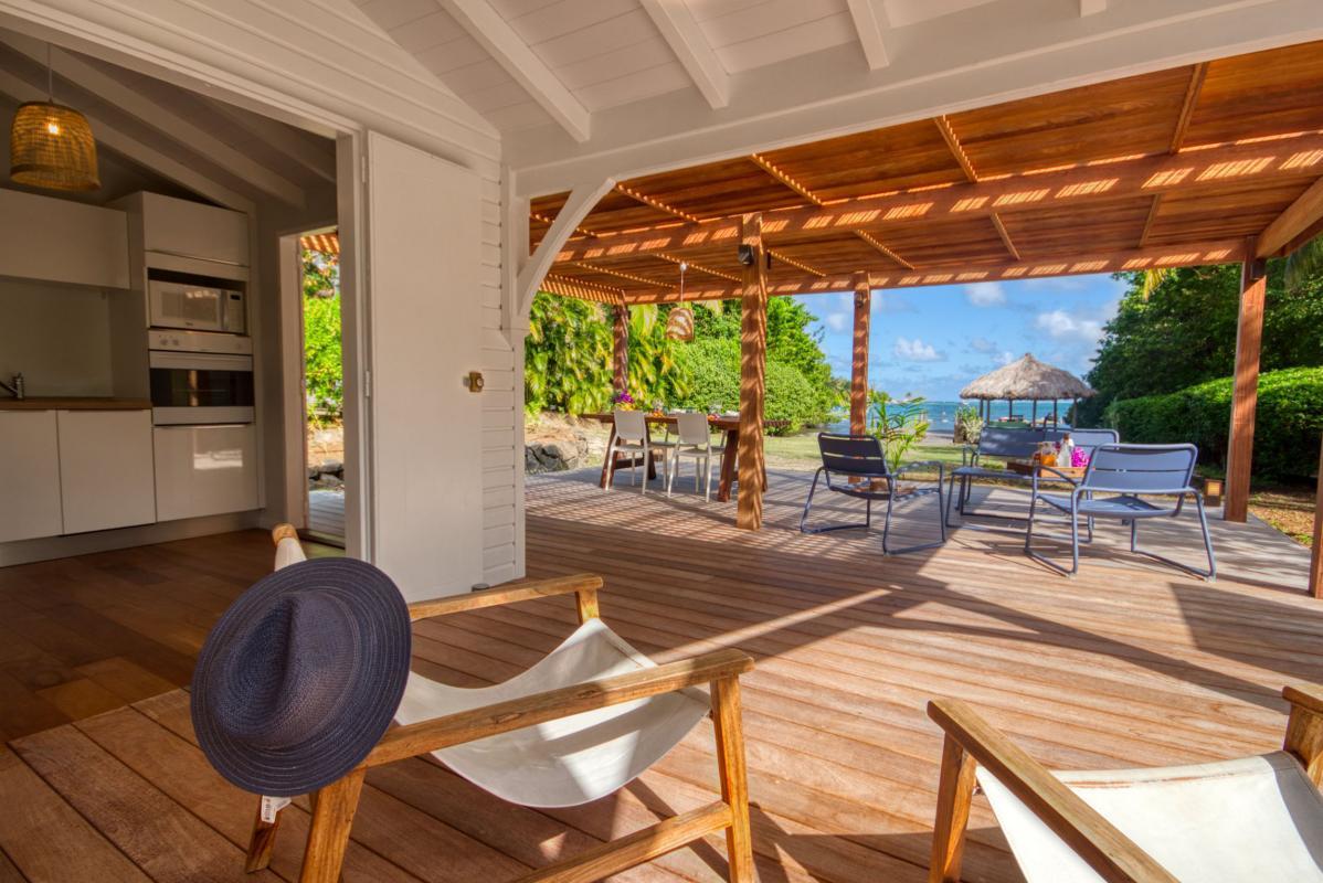 location villa de luxe martinique terrasse bungalow