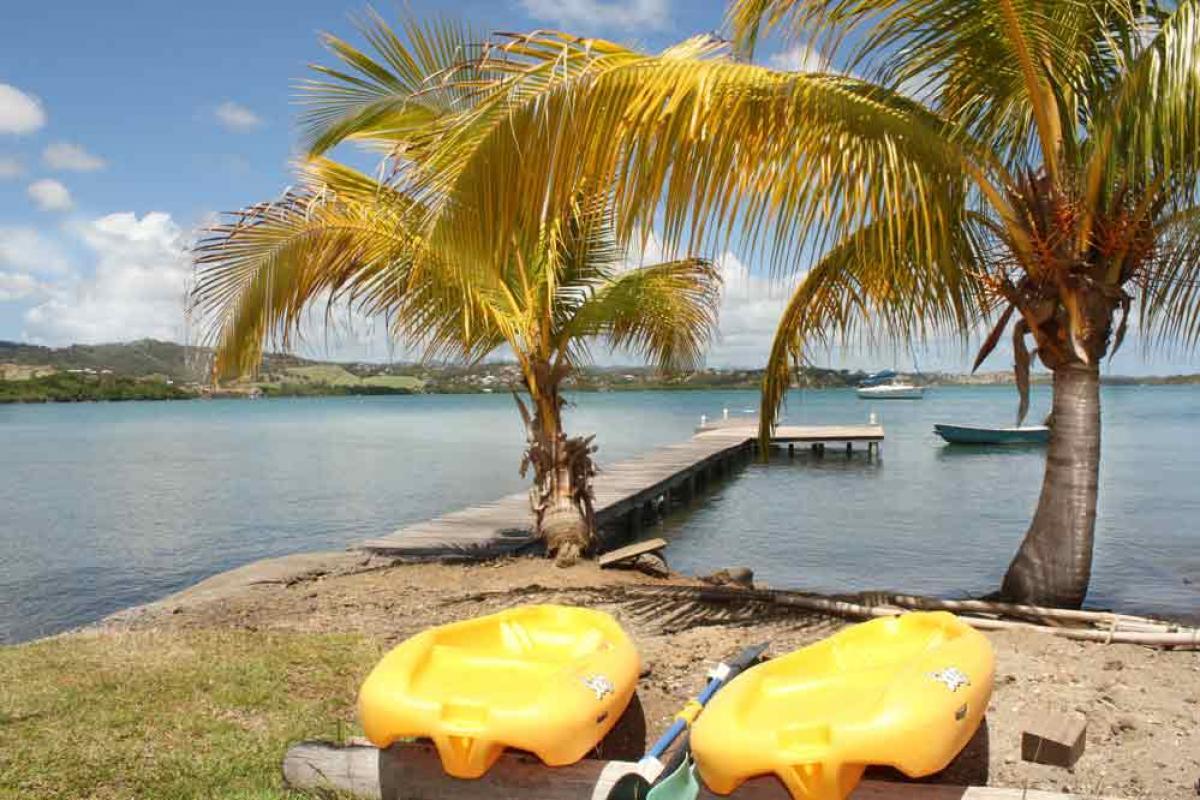 Location vacance Martinique- Pédalos mis à disposition