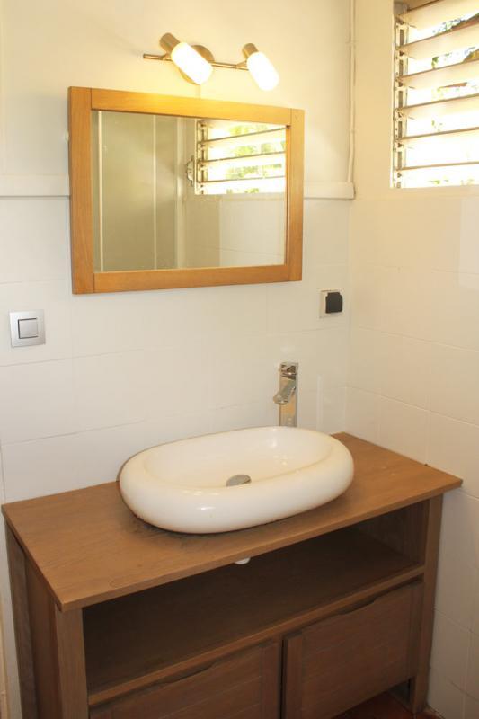 Salle d'eau bungalow