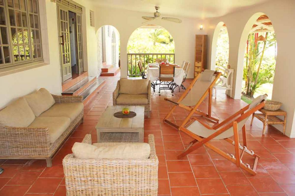Villa Martinique- La terrasse