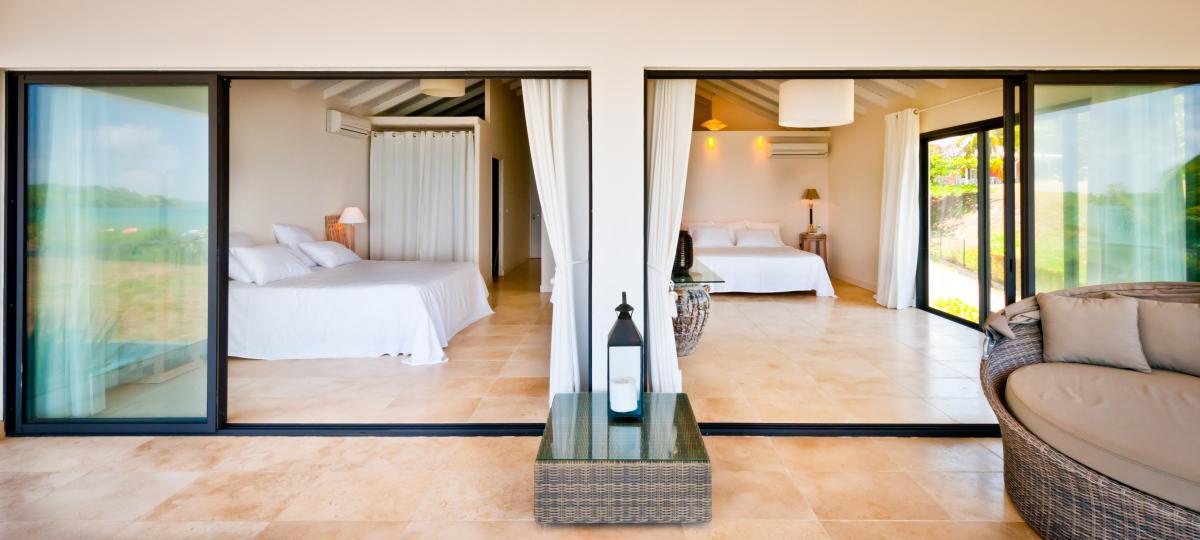location villa d'exception 14 personnes vue mer chambre 2 b