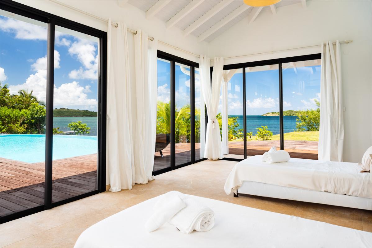 location villa d'exception 14 personnes vue mer chambre 5