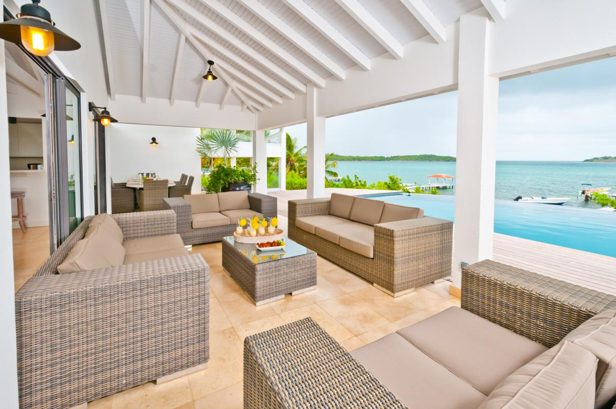 location villa d'exception 14 personnes vue mer terrasse 3