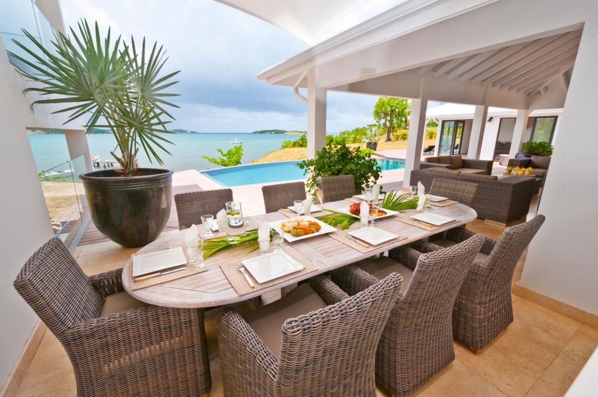 location villa d'exception 14 personnes vue mer terrasse