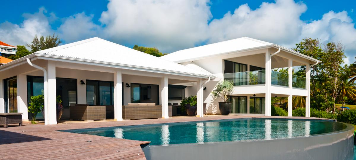 Location villa luxe martinique - Vue d'ensemble
