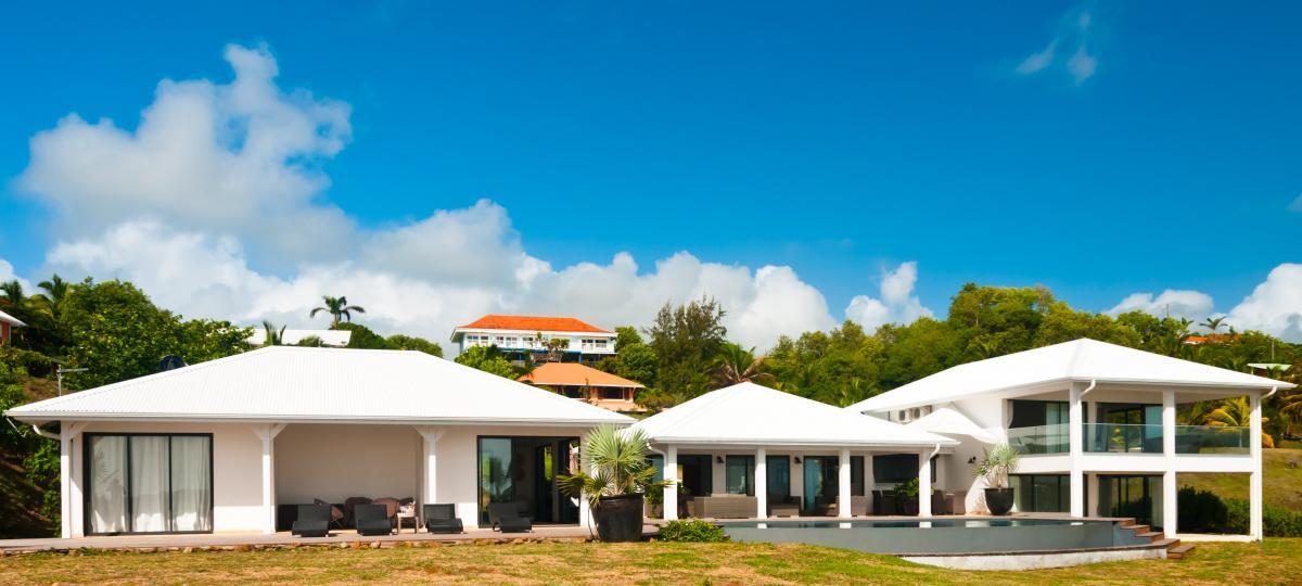Location villa luxe martinique - Vue d'ensemble2