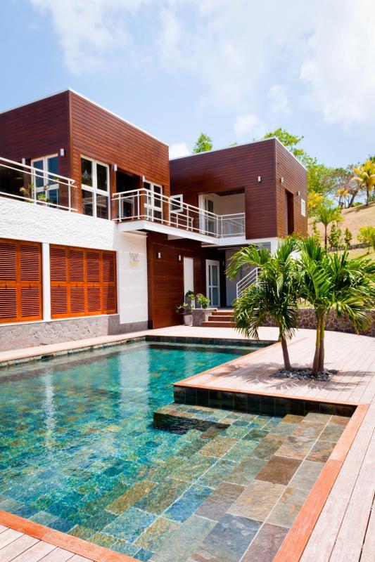 Location villa de grand luxe Martinique belle vue