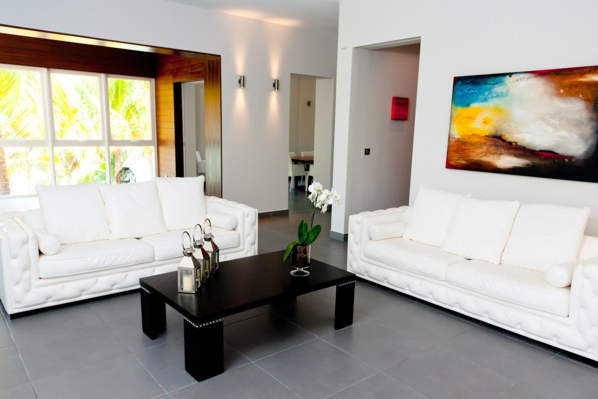 Location villa de grand luxe Martinique Séjour