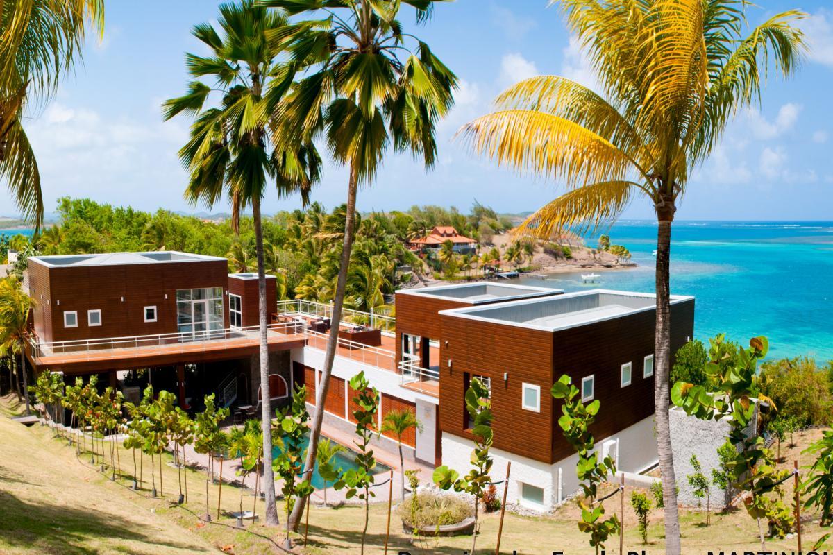 Villa grand luxe Martinique Vue d'ensemble bis