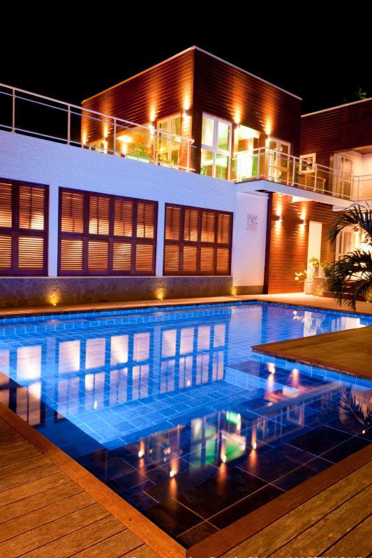 Villa grand luxe Martinique Vue  nuit