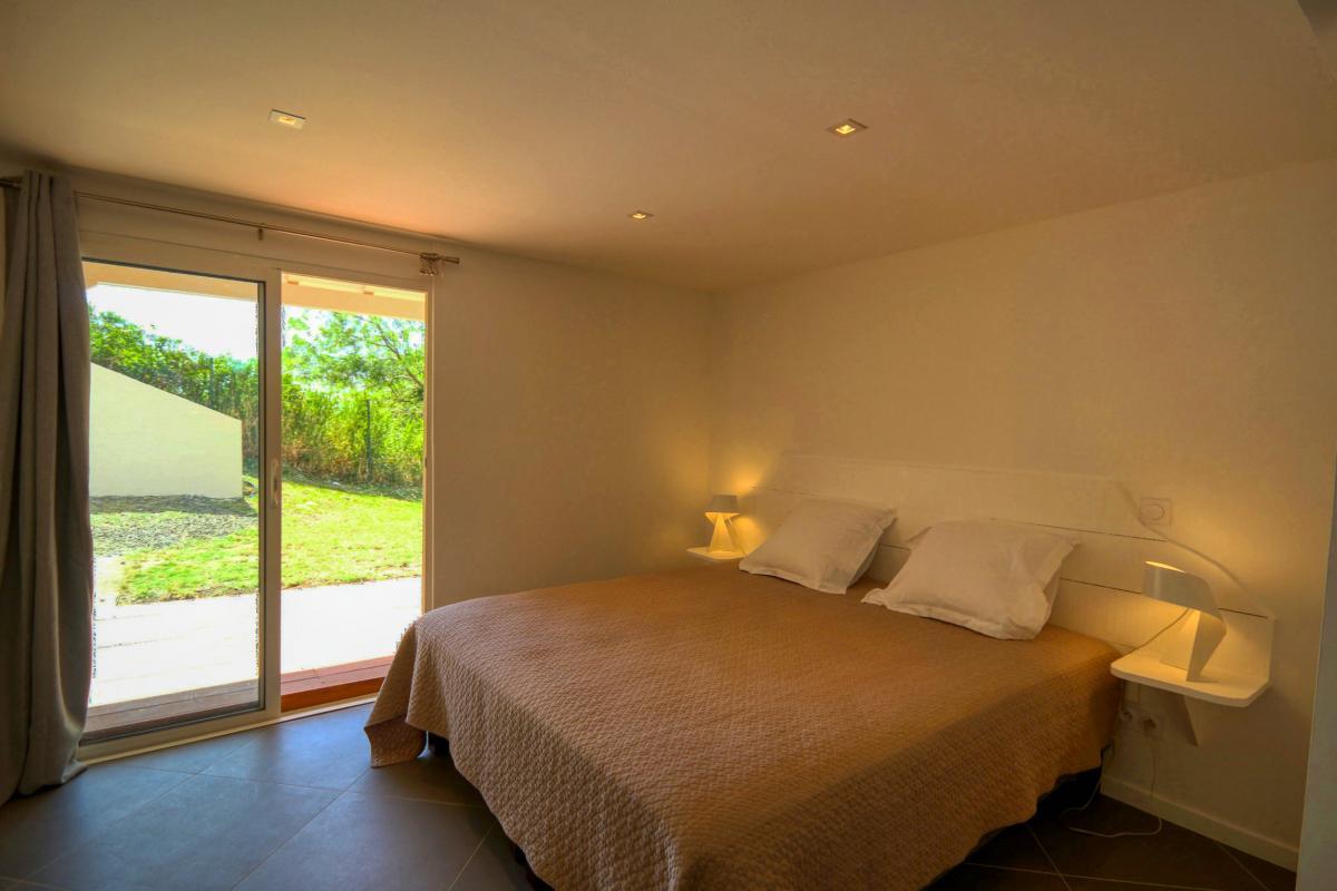 Location villa de luxe au François Martinique chambre rez de jardin
