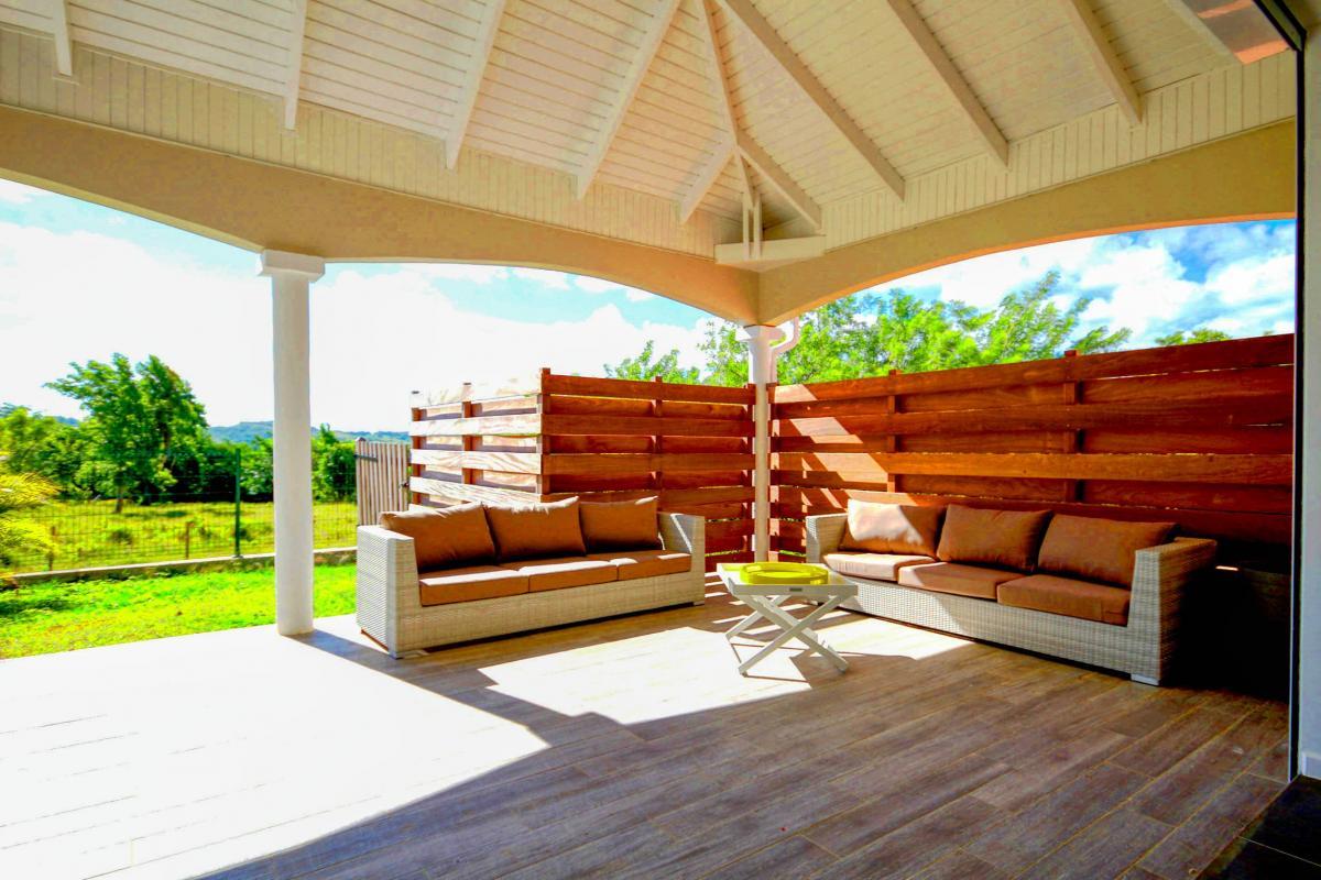 Location Villa de luxe Martinique Vue campagne