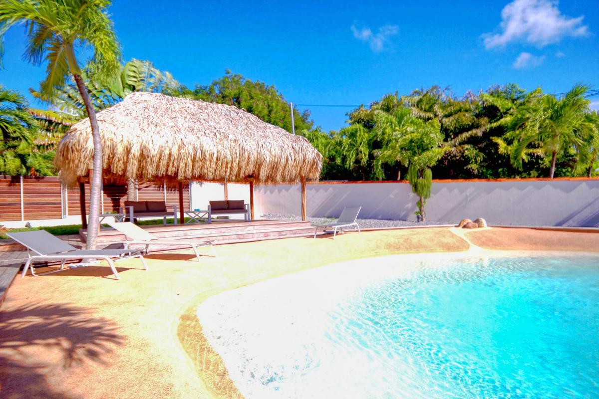 Location Villa de luxe Martinique Vue carbet