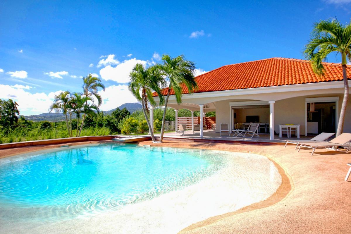 Location Villa de luxe Martinique Vue ensemble