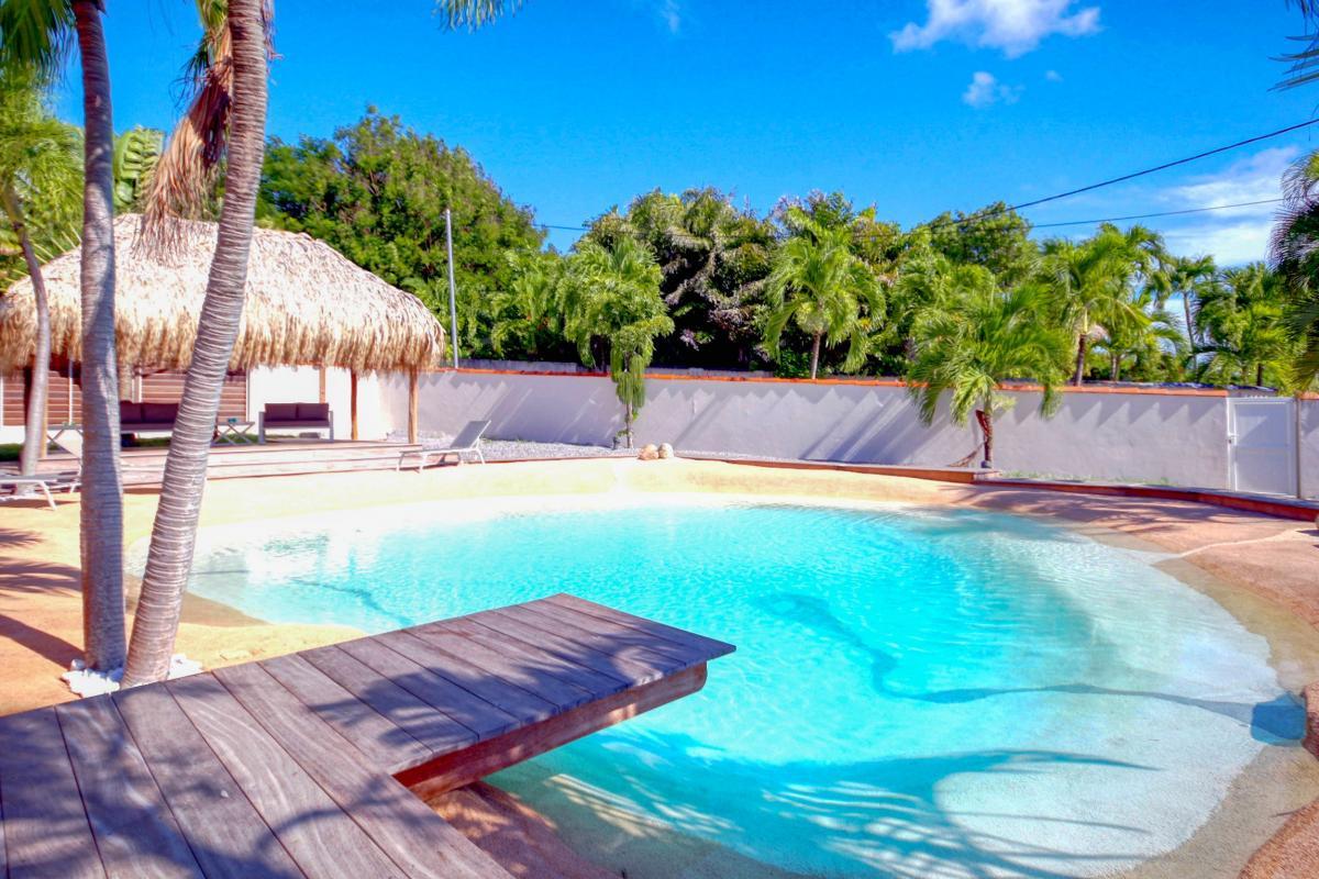 Location Villa de luxe Martinique Vue ponton