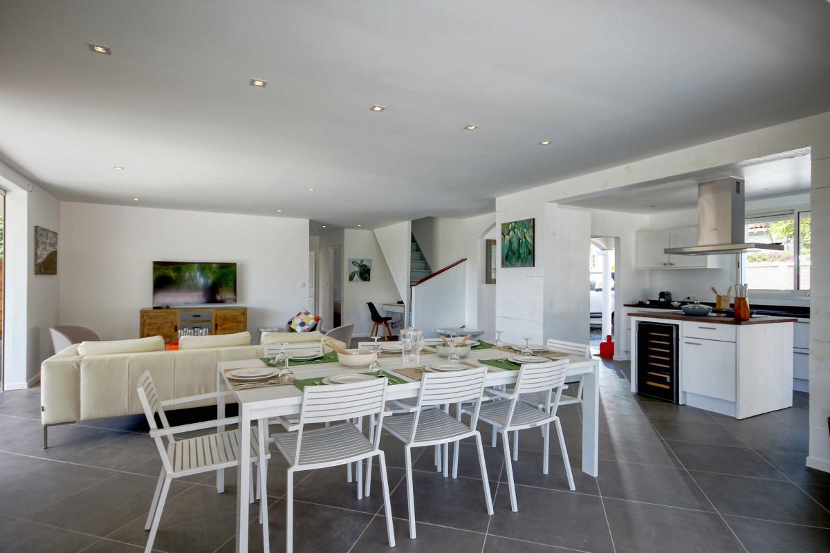 Location Villa de luxe Martinique Vue salon