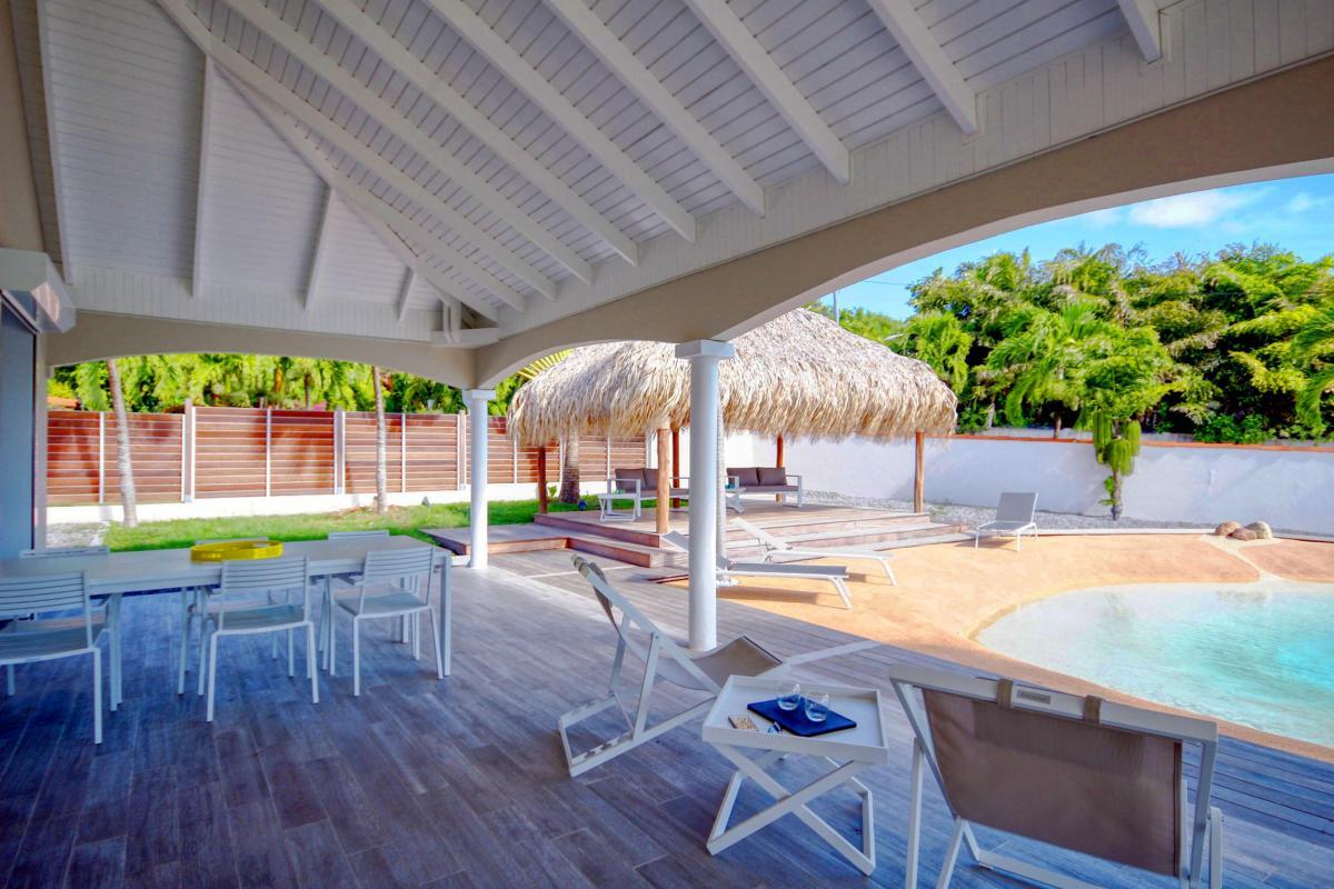 Location Villa de luxe Martinique Vue terrasse