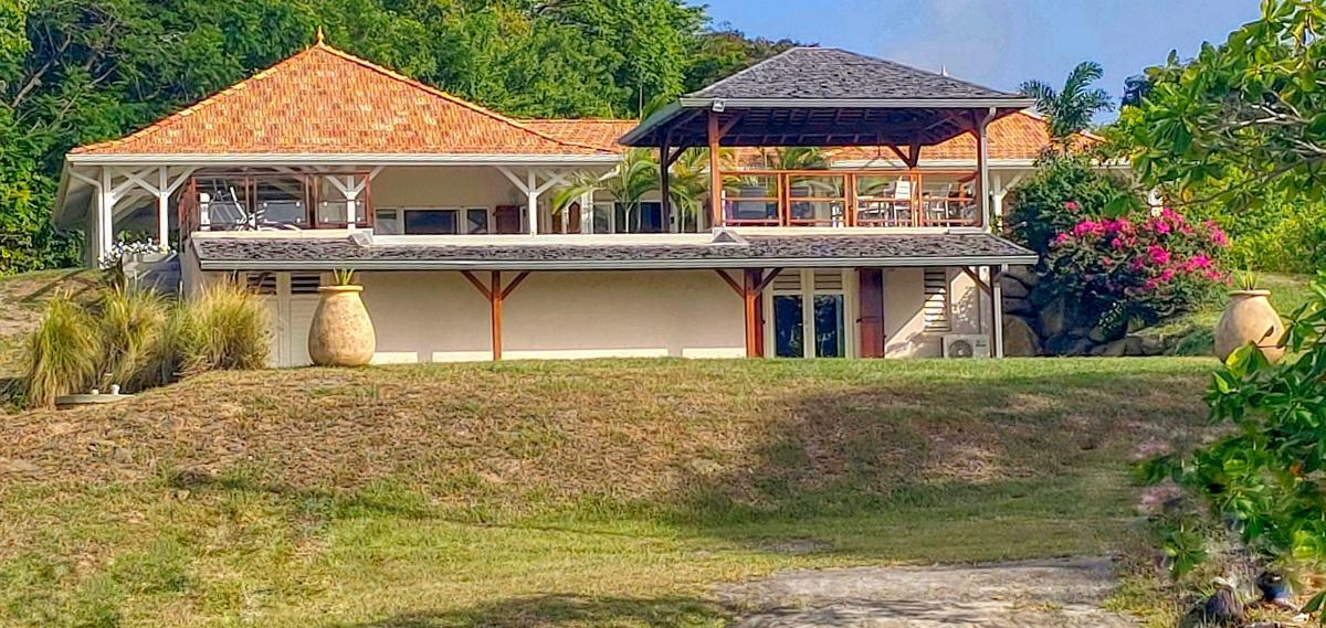 Location villa de luxe au Francois Martinique - vue d'ensemble