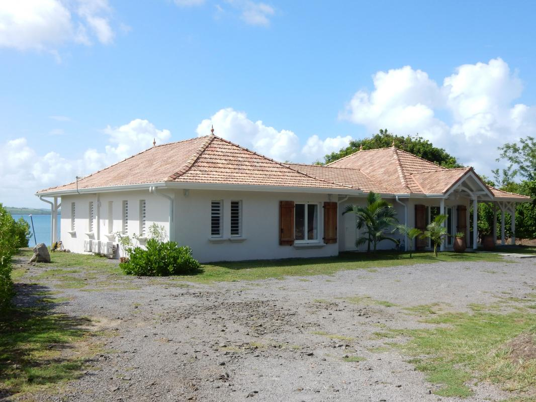 Location villa Martinique - Entrée villa