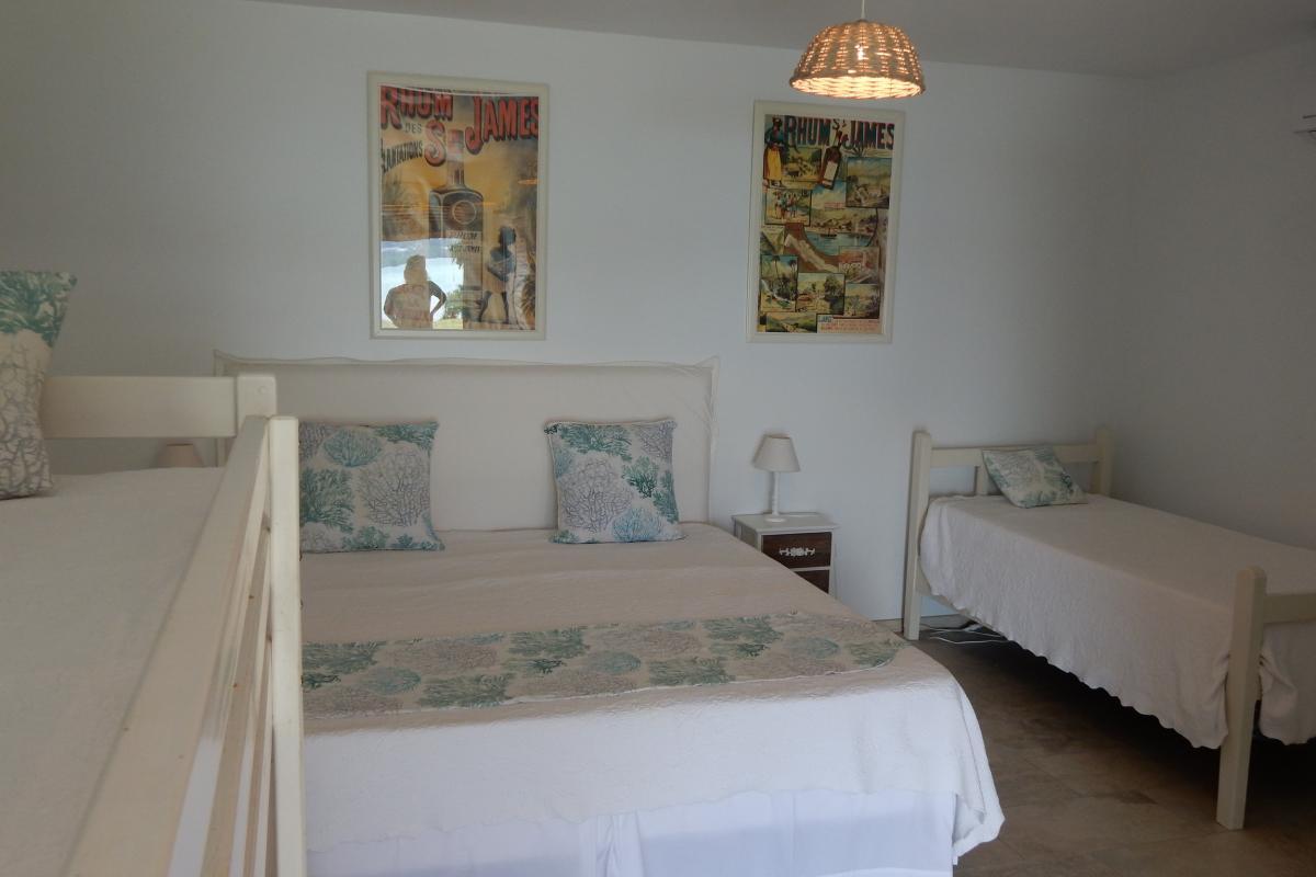 Location villa Martinique - La chambre 4