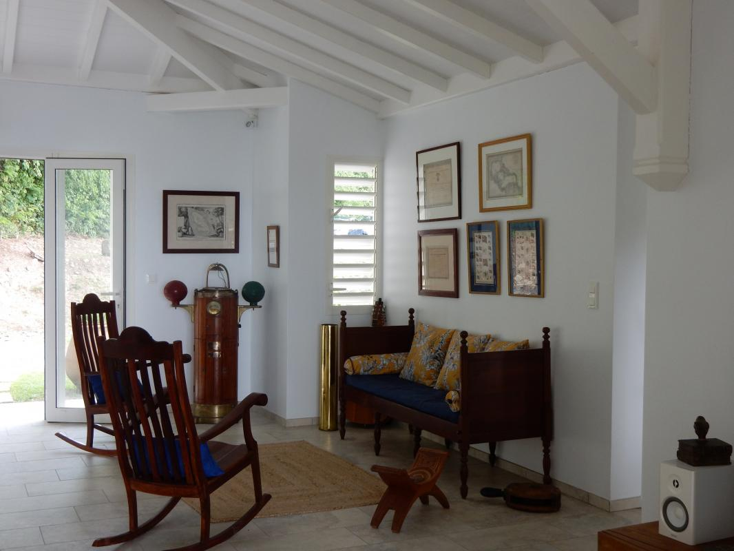 Location villa Martinique - Le séjour