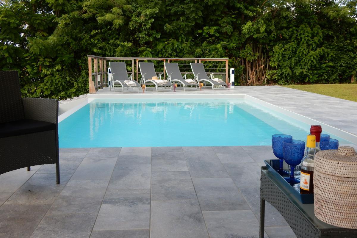 location villa martinique - piscine1