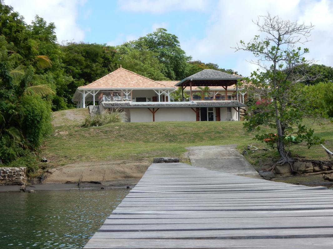 Location villa Martinique - Ponton privé