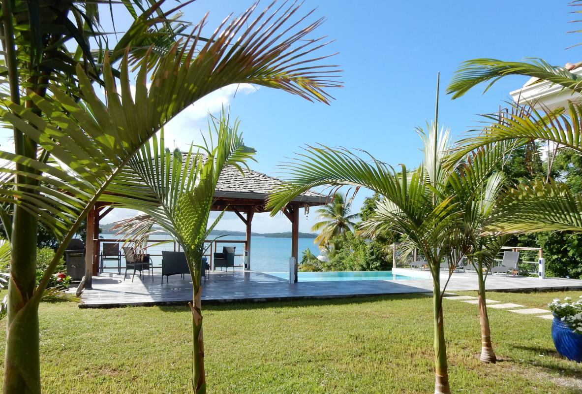 location villa martinique vue mer - carbet 2