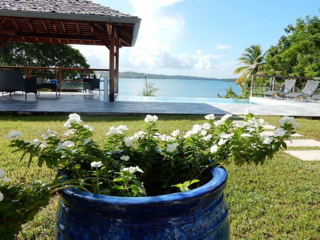 Location villa Martinique - Vue sur la mer