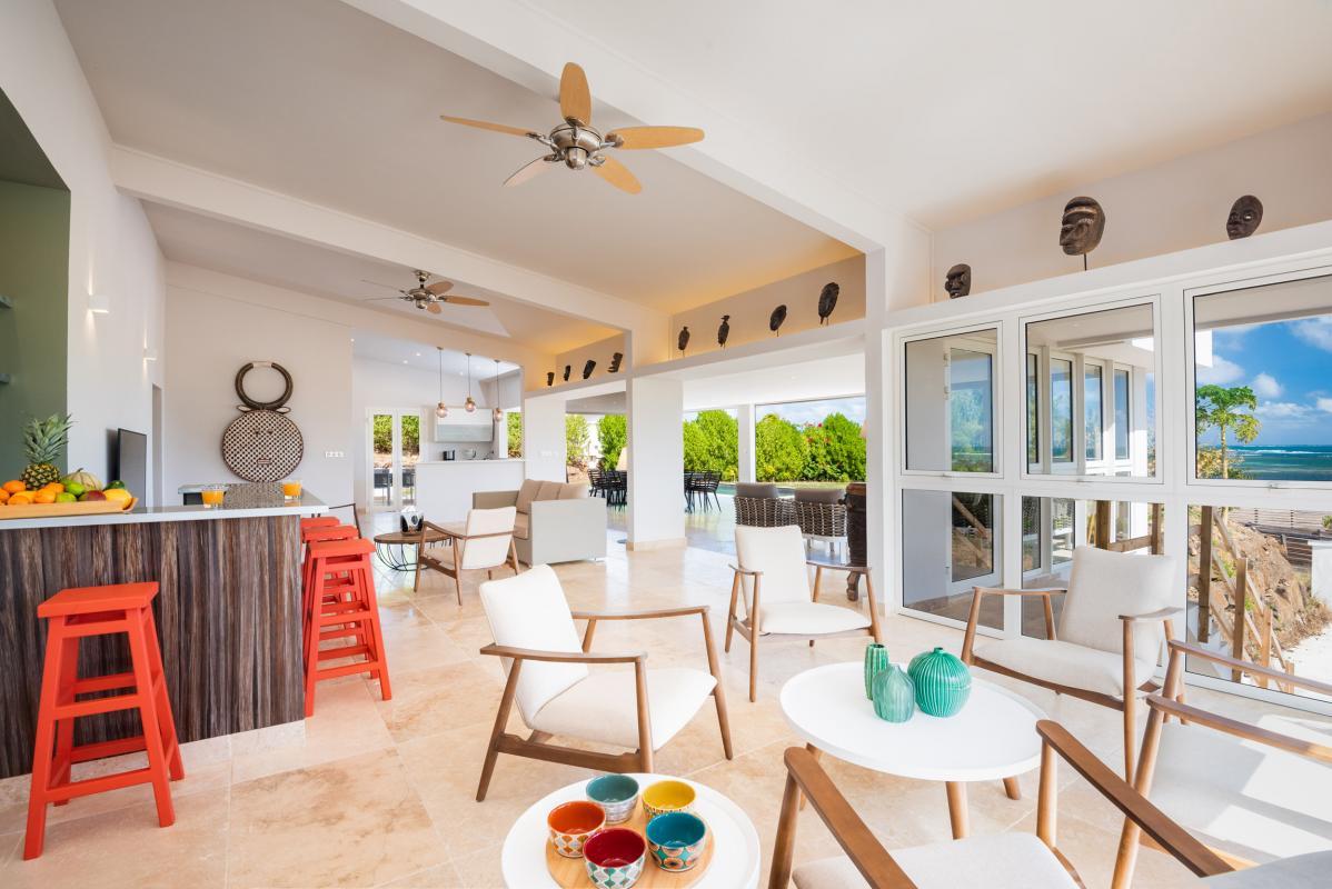 Location grande Villa 7 chambres 20 personnes Martinique