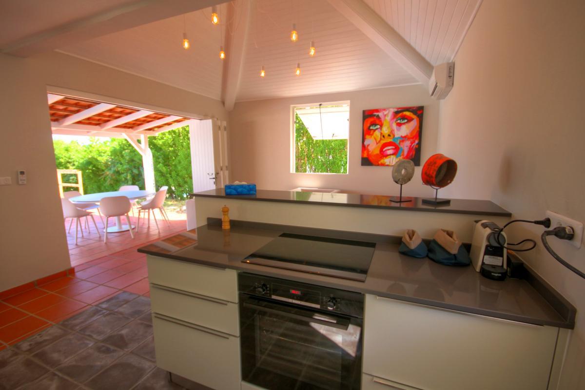 Location Villa de luxe Martinique cuisine ouverte