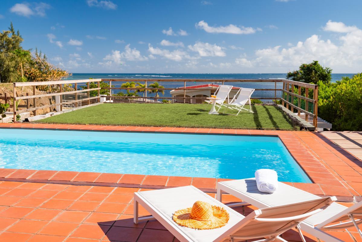 Location Villa de luxe Martinique piscine vue mer Cap Est