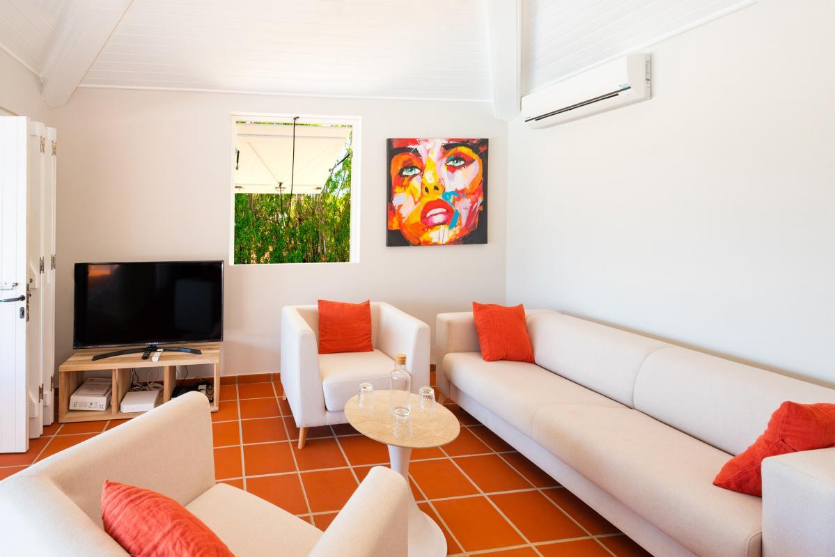 Location Villa de luxe Martinique salon