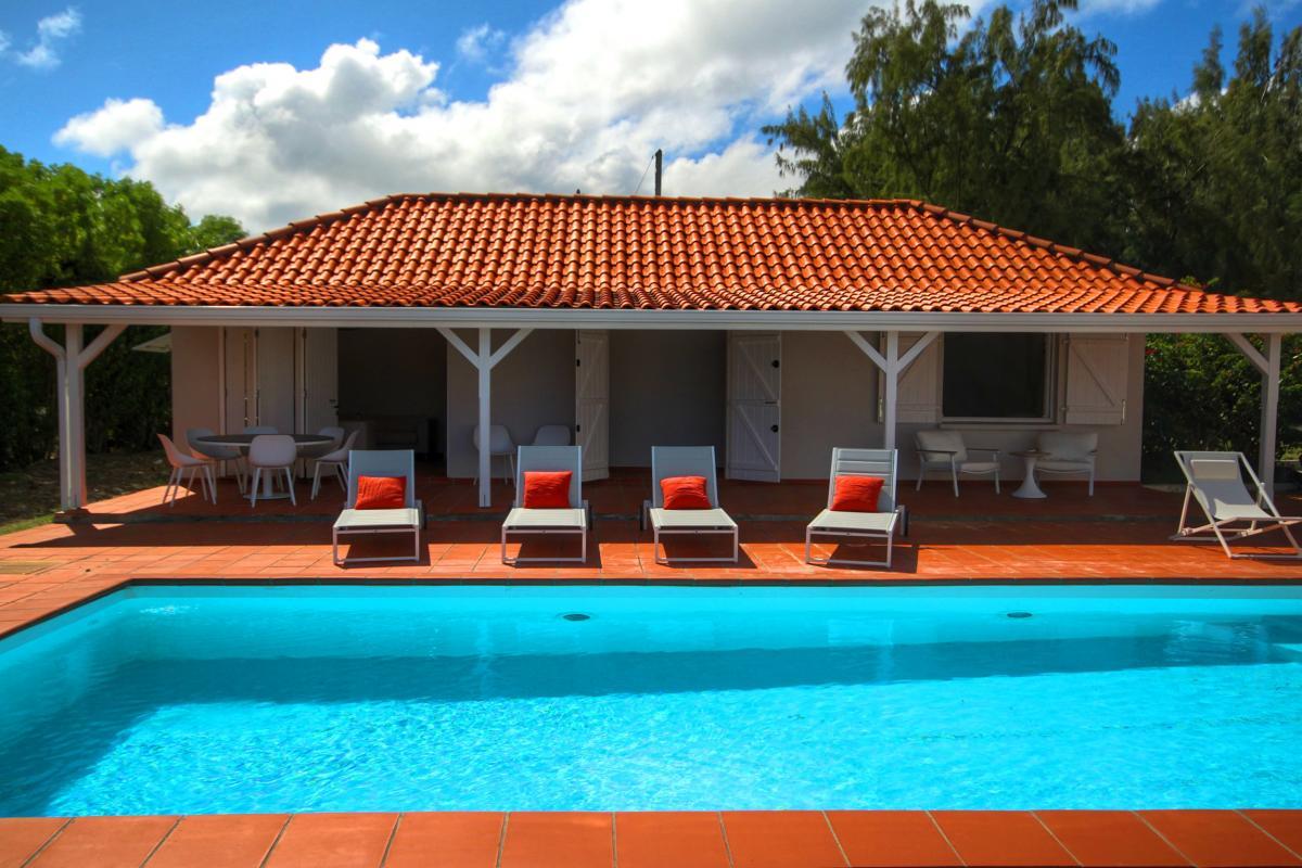 Villa au François Villa de luxe piscine vue mer Cap Est Martinique