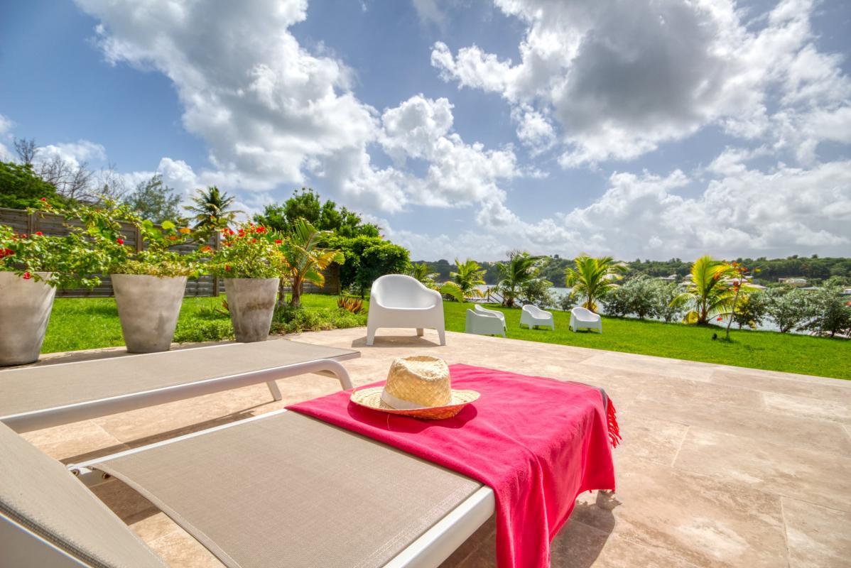 Location villa de luxe martinique 4 chambres 11 personnes vue mer