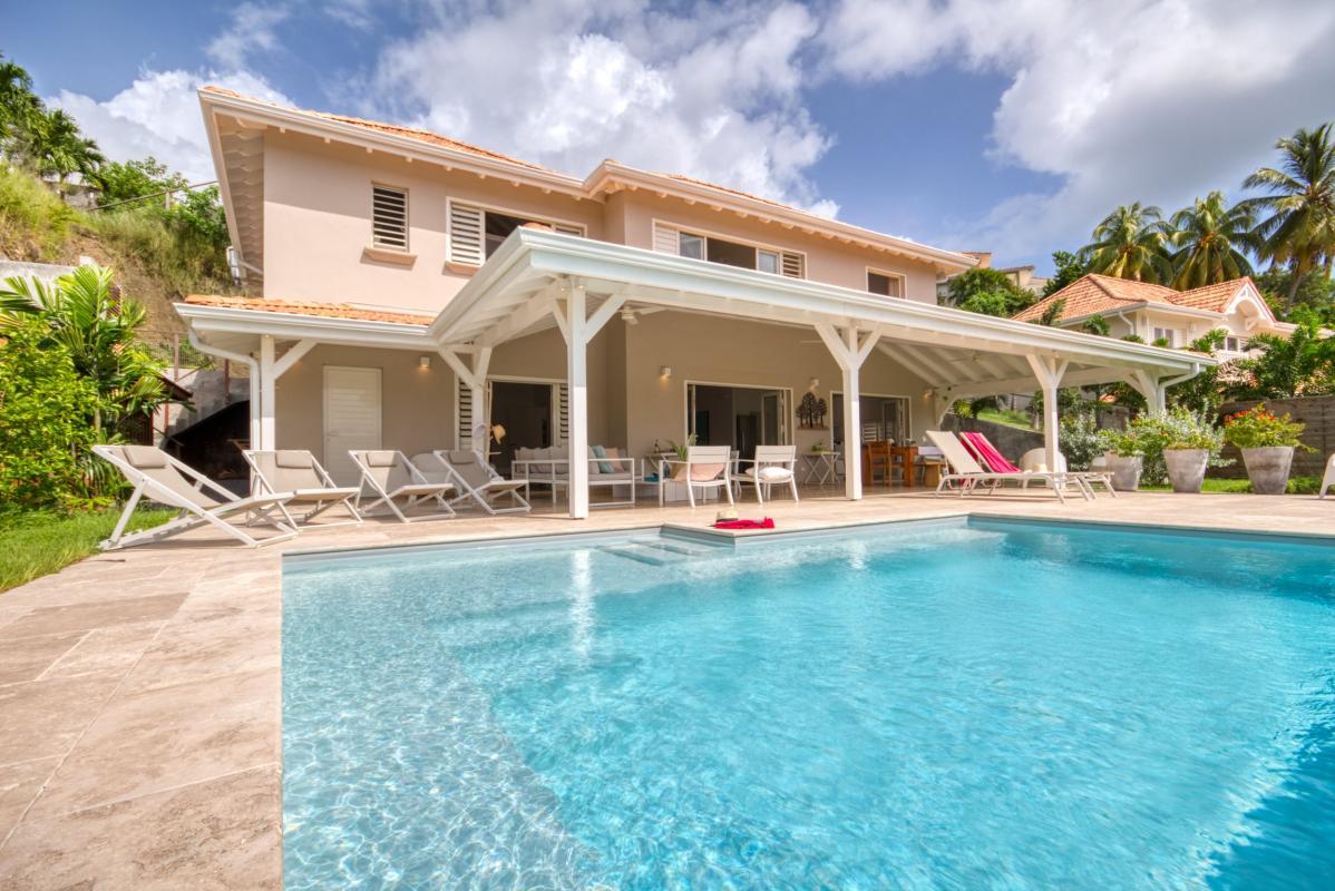 Location villa de luxe martinique au cap est avec vue mer et piscine