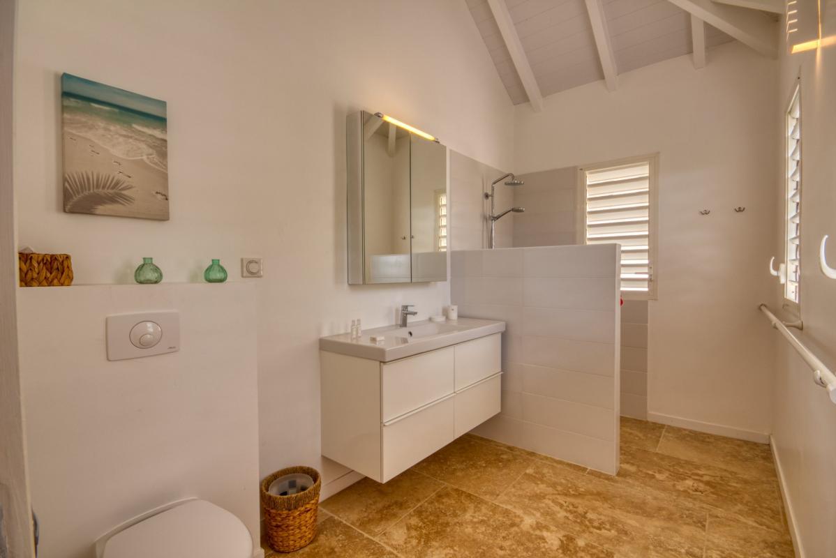 Location villa de luxe martinique au cap est - chambre 3 étage avec salle d'eau privative