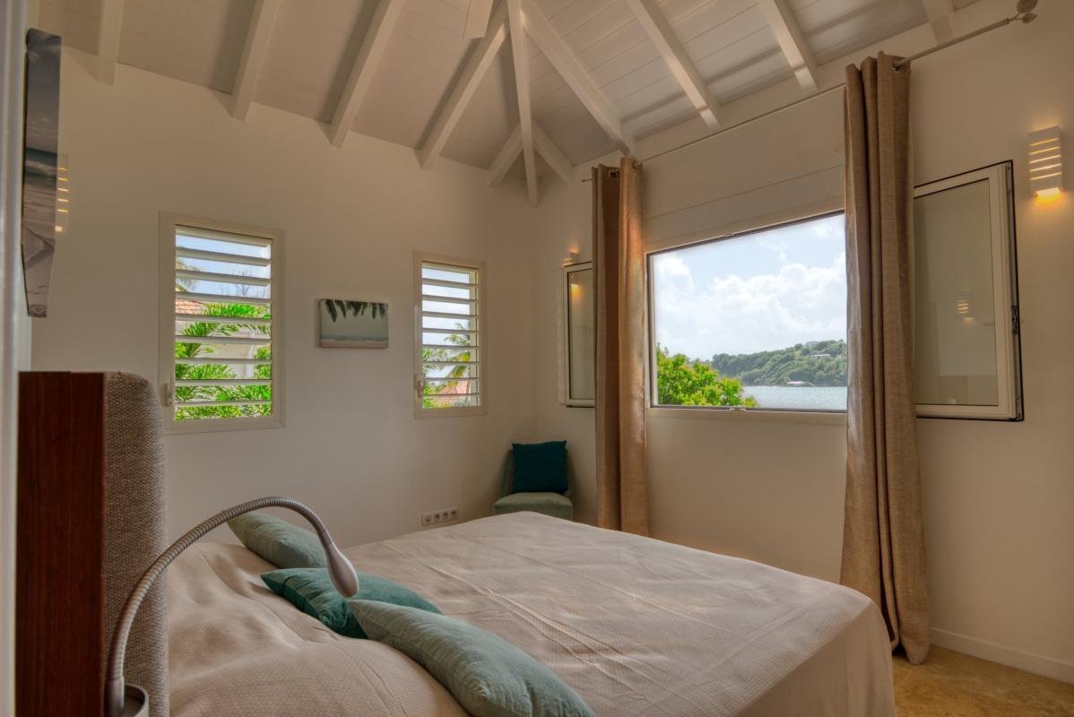 Location villa de luxe martinique au cap est - chambre 3 étage vue 2