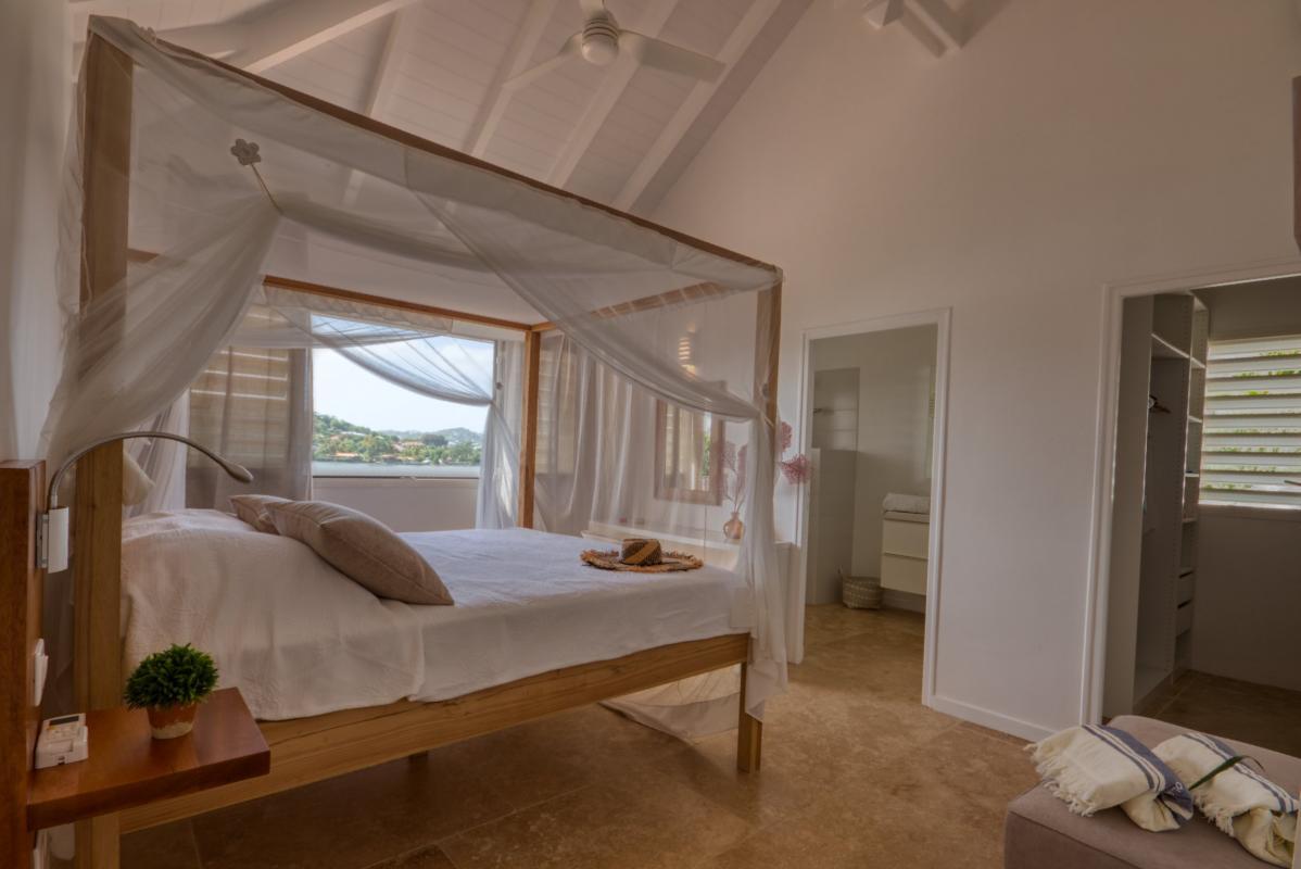 Location villa de luxe martinique au cap est - chambre étage 1