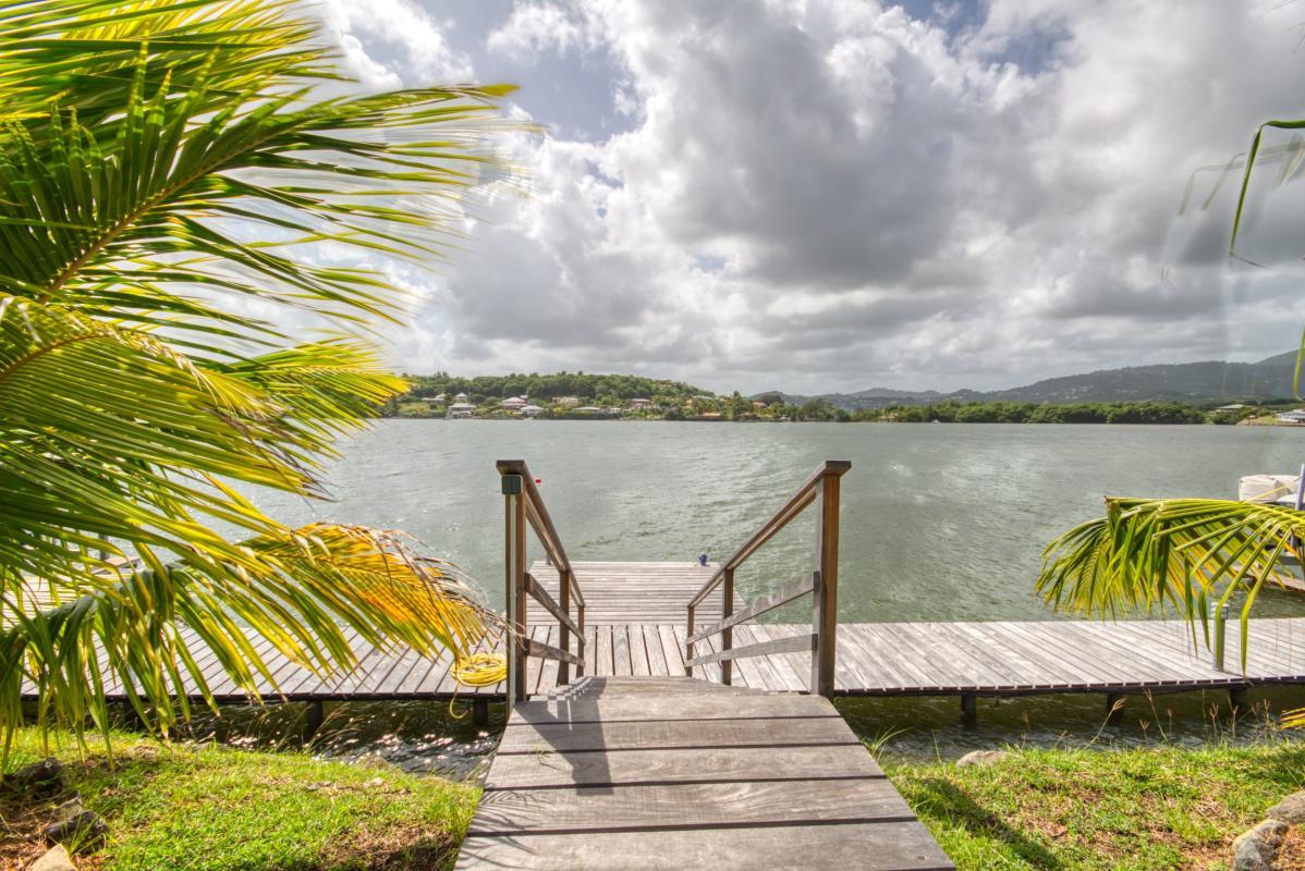 Location villa de luxe martinique avec ponton