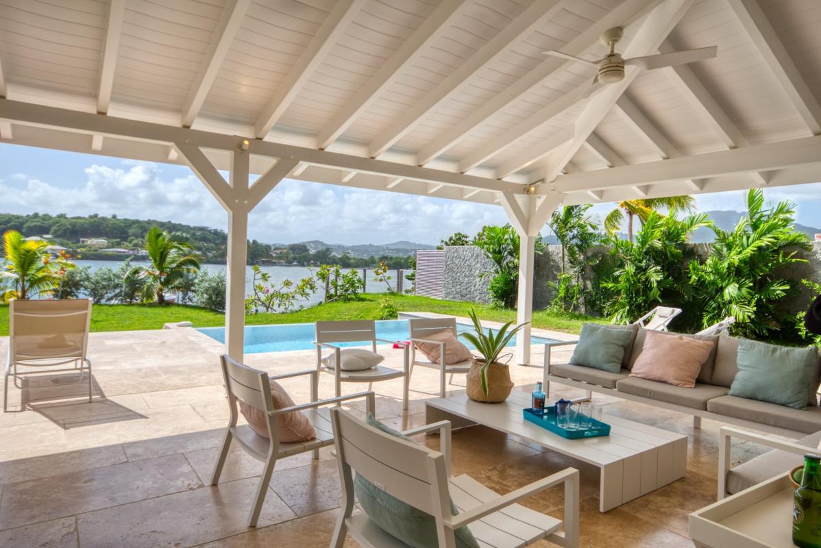 Location villa de luxe martinique terrasse vue mer