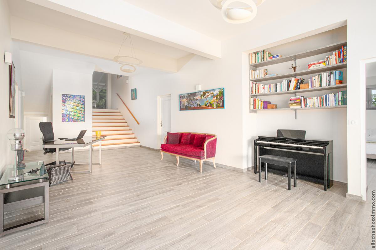 location villa de luxe martinique accès chambre rez de jardin vue 2